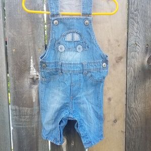 4-6mo short-overalls H&M